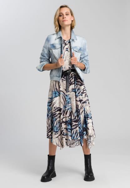 Jeansjacke aus reyceltem Demin
