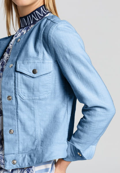 Jeans Jacket with metal buttons