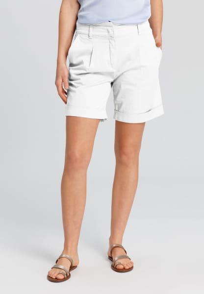 Short with elastic waistband