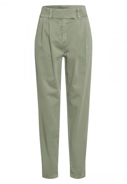 Pants with comfortable high waist fit